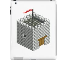 Isocity Castle Building Tower iPad Case/Skin