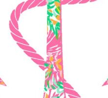Lilly Anchor Sticker
