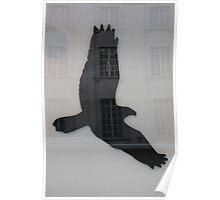 Eagle silhouette Poster