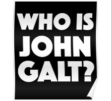 Who Is John Galt? Poster