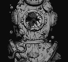 Dead Diver by deniart