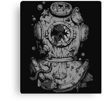 Dead Diver Canvas Print
