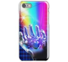 Chrome hand iPhone Case/Skin