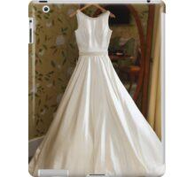 Brides wedding dress iPad Case/Skin