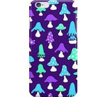 Mushroom night iPhone Case/Skin