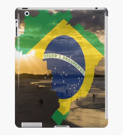 Brazil sea iPad Case/Skin