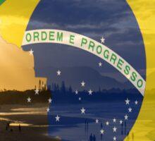 Brazil sea Sticker