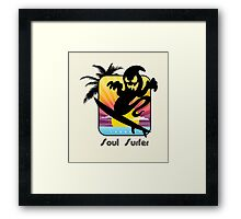 soul surfer Framed Print