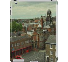 A bird's eye view of York, England iPad Case/Skin