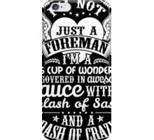 FOREMAN COVERS iPhone Case/Skin