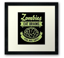 Funny Zombies Framed Print