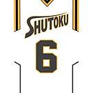 Kuroko no Basuke: SHUTOKU 6 by kinxx