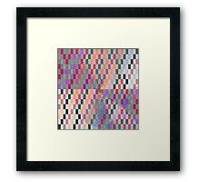 rectangles Framed Print