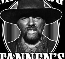 Old Mad Dog Tannen's Whiskey Sticker
