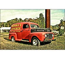 """""""Gettin' the Word Out""""... prints and products Photographic Print"""
