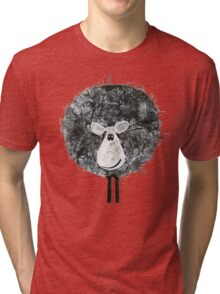 Sheepish Tee (large version) Tri-blend T-Shirt