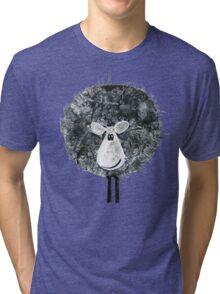 Sheepish Tee (large version) Tri-blend T-Shirt