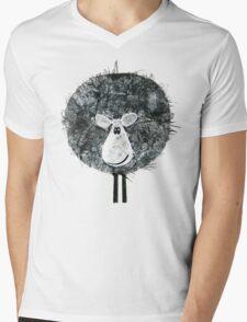 Sheepish Tee (large version) Mens V-Neck T-Shirt