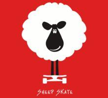 Sheep Skate - Graphic Tee One Piece - Short Sleeve