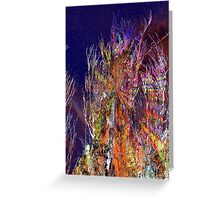 wiggling and whirring outback Greeting Card