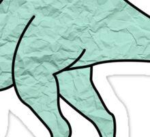 Dinosaur Paper Sticker
