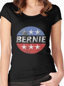 Vintage Bernie 2016  Women's Fitted Scoop T-Shirt