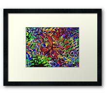offshore seashell Framed Print