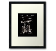 Art Of Brewing Beer Patent Framed Print