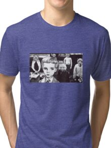 Village of the damned cats Tri-blend T-Shirt