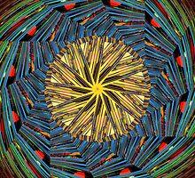 mandala circle lines by donphil