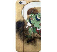 Ogata Kōrin Wind God iPhone Case/Skin
