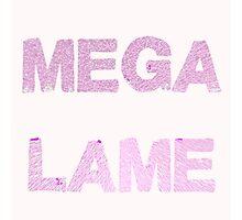 Mega Lame Teen Angst Photographic Print