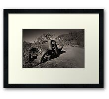 Rusting quietly Framed Print