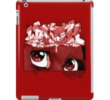 Graffiti WATCH (red) iPad Case/Skin