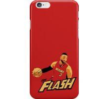 """Dwyane """"The Flash"""" Wade iPhone Case/Skin"""