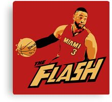 "Dwyane ""The Flash"" Wade Canvas Print"