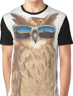 Shady Owl Graphic T-Shirt