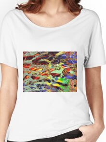 some birch color pattern Women's Relaxed Fit T-Shirt