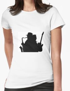 Bruce & Clarence  Womens Fitted T-Shirt