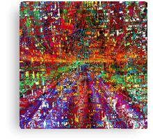 colourful peace Canvas Print