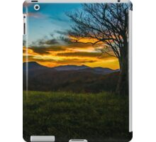 Sunset in the Mountains iPad Case/Skin
