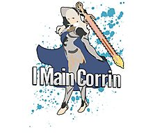 I Main Corrin (Female) - Super Smash Bros  Photographic Print
