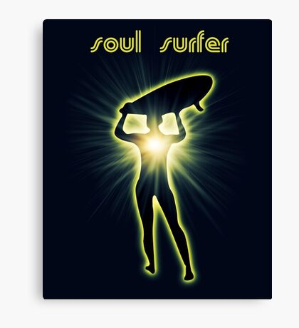 soul surfer 2 Canvas Print
