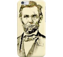 President of the United States of America Abraham Lincoln iPhone Case/Skin