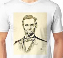 President of the United States of America Abraham Lincoln Unisex T-Shirt