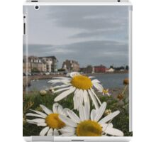 Daisies on a dock iPad Case/Skin