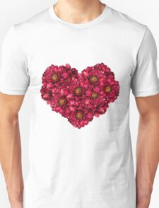 Heart of peonies T-Shirt