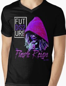Future The Purple Reign Tour 2016 Mens V-Neck T-Shirt