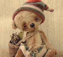 Handmade bears from Teddy Bear Orphans - Tom Lad by Penny Bonser