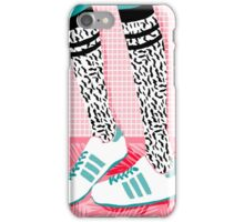 Aiight - tennis shoes athlete fashion shoe sports game palm springs socal country club retro throwback 1980s  iPhone Case/Skin